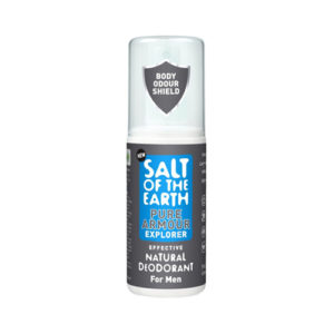 Salt Of The Earth Pure Armour Explorer Effective Natural Deodorant For Men 100ml