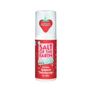 Salt Of The Earth Rock Chick Sweet Strawberry Deodorant Spray 100ml