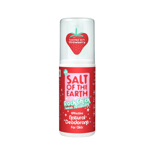 Salt Of The Earth Rock Chick Sweet Strawberry Deodorant Spray 100ml