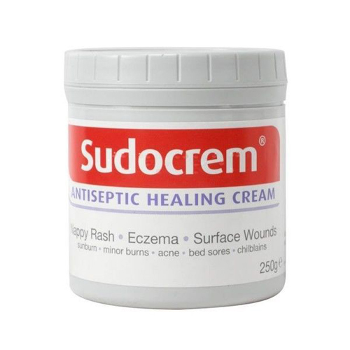 Sudocrem Antiseptic Healing Cream For Nappy Rash Eczema Burns 250g