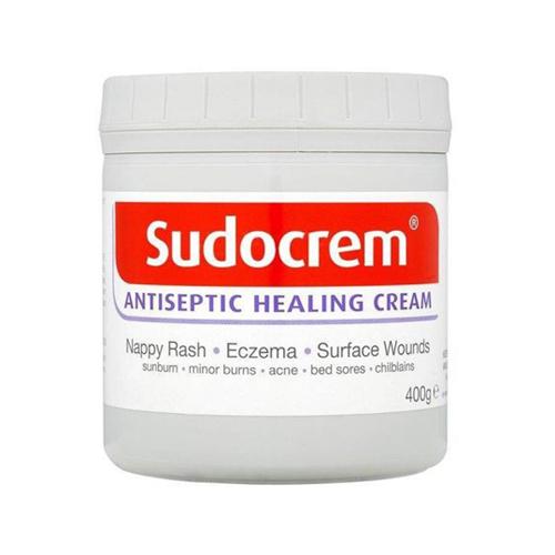 Sudocrem Antiseptic Healing Cream For Nappy Rash Eczema Burns 400g