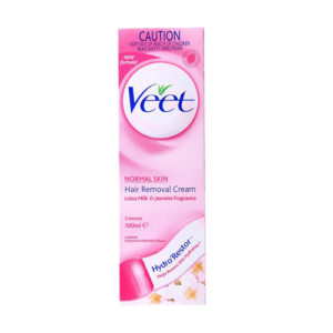 Veet Hair Removal Cream Normal Skin Lotus Milk & Jasmine Fragrance 100ml