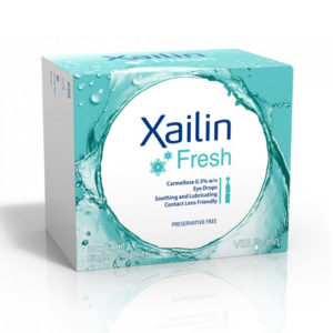 Xailin Fresh Without Preservative Dry Eye Drops 30 X 0.4ml
