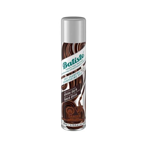 Batiste Divine Dark Dry Shampoo For Dark & Deep Brown Hair 200ml