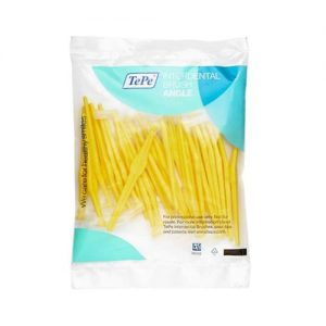 Tepe Angle Interdental Brushes Yellow 0.7mm  - Pack Of 25