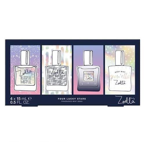 Zoella Four Lucky Star Fragrance Mist Quad