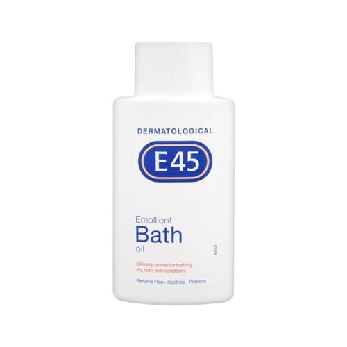 E45 Dermatological Emollient Bath Oil 500ml