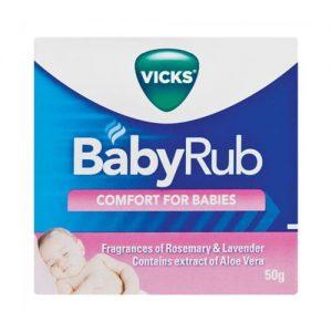 Vicks Babyrub Cosmetic 50g