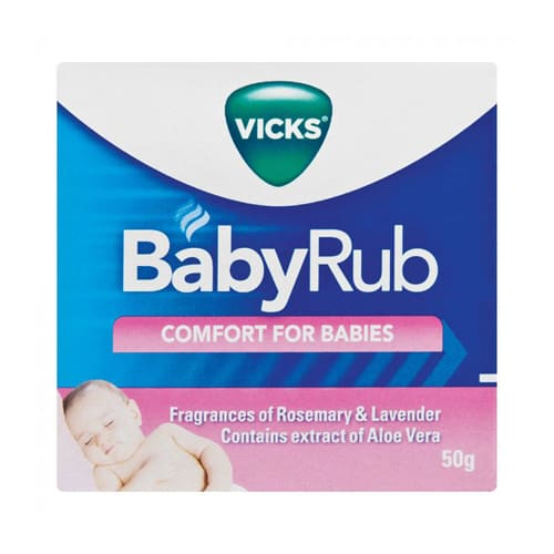 Vicks Babyrub Cosmetic 50g