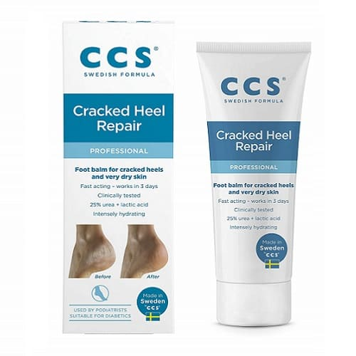 CCS Swedish Foot Heel Balm For Rough Dry And Cracked Heels 75g