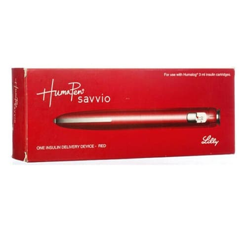 Humapen Luxura Savvio Red Pack Of 1
