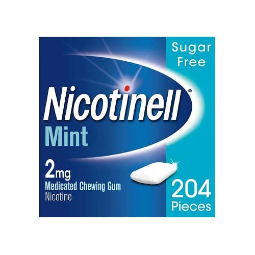 Nicotinell Mint Gum 2mg 204 Pieces