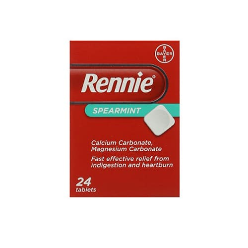 Rennie Spearmint 24 Tablets