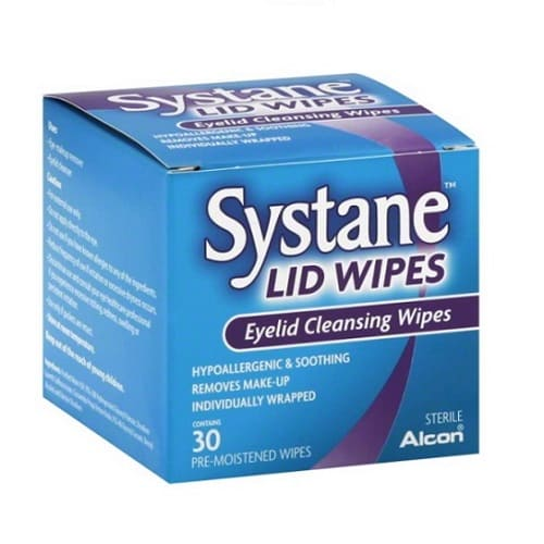 Systane Eyelid Cleansing Wipes