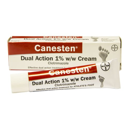 Canesten Athletes Dual Action Foot Cream 30g
