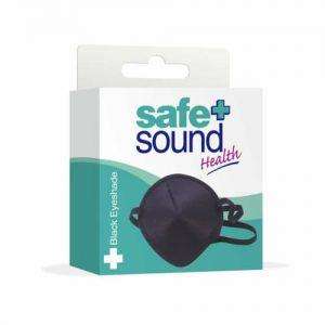 Safe & Sound Eyeshade Black