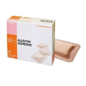 Allevyn Adhesive Dressing 7.5cm x 7.5cm - Pack Of 10