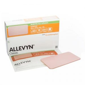 Allevyn Non-Adhesive Advanced Foam Wound Dressing 10cm x 20cm (10)