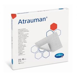 Atrauman Impregnated Tulle Dressing 7.5 X 10cm - Pack Of 50