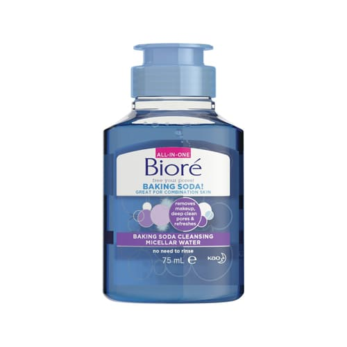 Biore Baking Soda Cleansing Make-Up Removing Travel Size 75ml