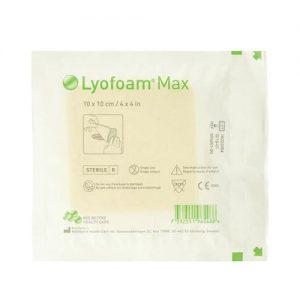 Lyofoam Foam Dressing Max 10cm X 10cm - Pack Of 10