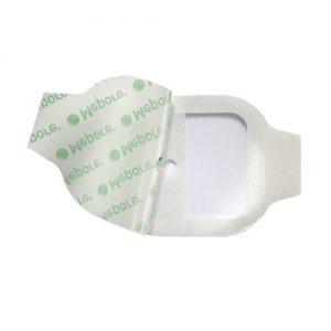 Mepore IV Transparent Adhesive Dressing 5cm X 5.5cm (10)