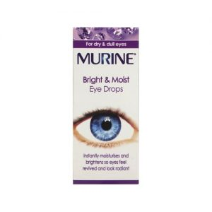 Murine Bright & Moist Eye Drops 15ml