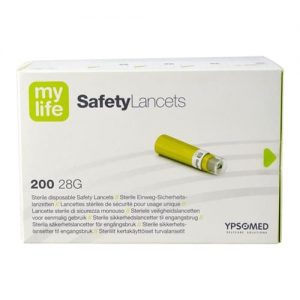 Mylife Safety Lancets 28g - Pack Of 200