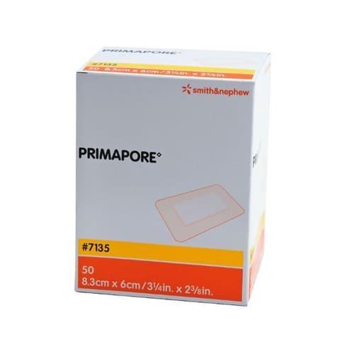Primapore Adhesive Wound Dressing 6cm x 8.3cm - Pack Of 50