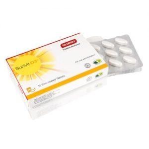 Sunvit-D3 Vitamin 50000iu Film Coated Tablets - 15 Tablets