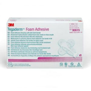 Tegaderm Foam Adhesive 90615 6.9sqcm - Pack Of 10
