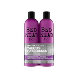 Tigi Bed Head Dumb Blonde Hair Shampoo And Conditioner Set 750ml