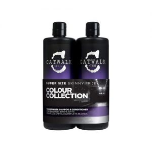 Tigi Catwalk Fashionista Blonde Hair Shampoo And Conditioner Set 750ml