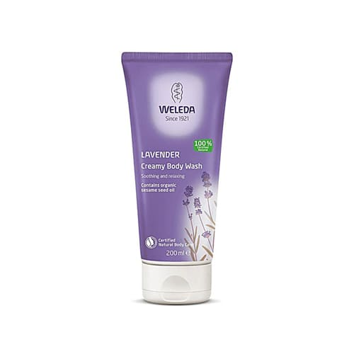 Weleda Lavender Creamy Body Wash 200ml