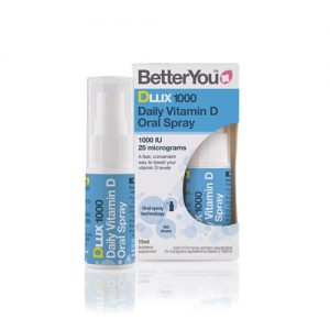 BetterYou Dlux 1000iu Daily Vitamin D Oral Spray 15ml
