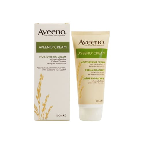 Aveeno Moisturising Cream with Natural Colloidal Oatmeal 100ml