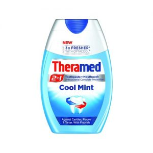 Theramed 2 in 1 Cool Mint Toothpaste 75ml