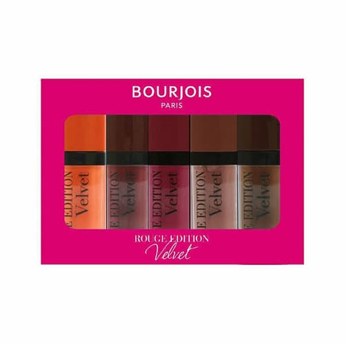 Bourjois Rouge Edition Velvet Lipstick Gift Set