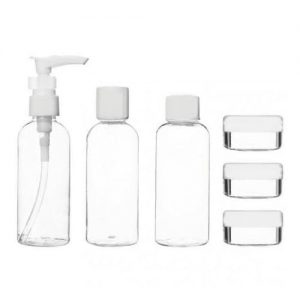 County 6 Piece Travel Bottle Set  - Airline Approved