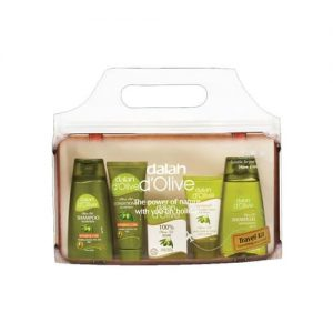 Dalan D`Olive Travel Kit Gift Set
