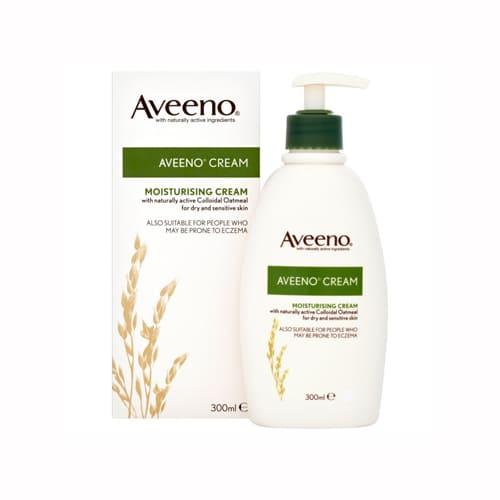 Aveeno Moisturising Cream for Dry and Sensitive Skin 300ml