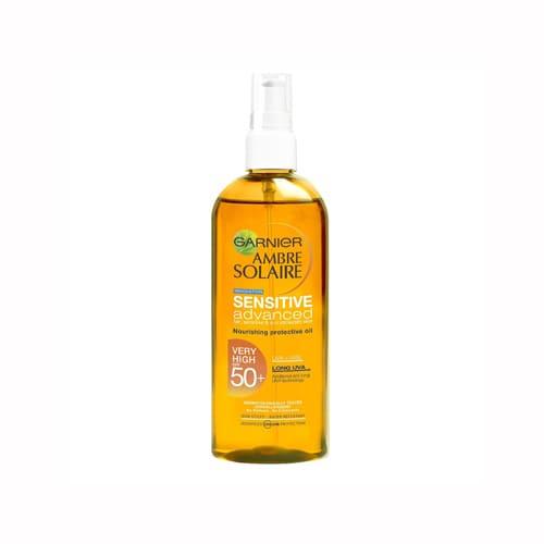 Garnier Ambre Solaire Sensitive Advanced Nourishing Oil SPF 50+ 150ml