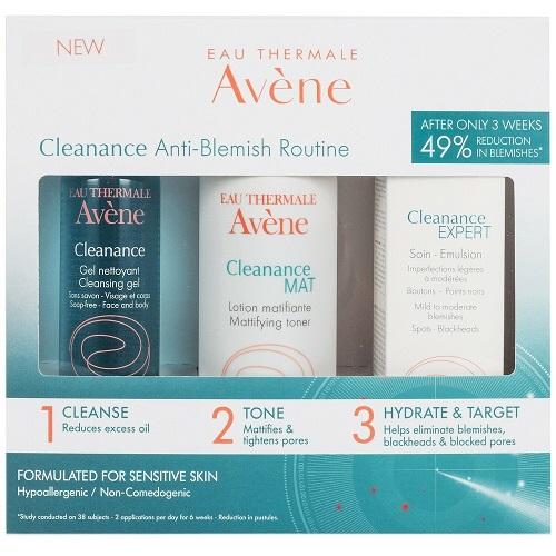 Avene Cleanance Anti-Blemish Expert Gift Set