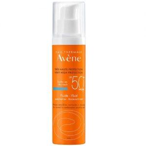 Avene Suncare Dry Touch Fluid SPF 50+ 50ml