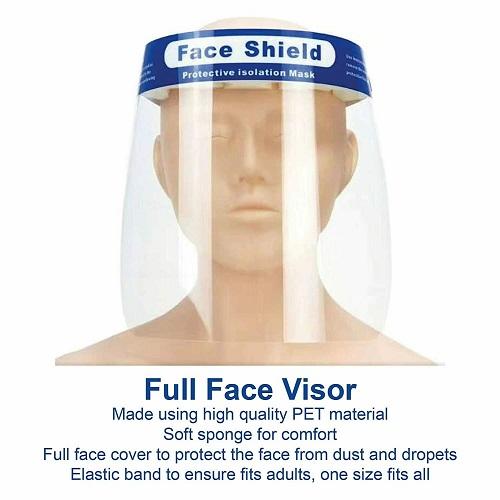 Face Shield Full Face Visor
