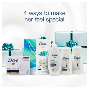 Dove Gently Nourishing Mini Treasures Collection Gift Set 4pcs, Gift for her