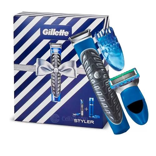 Gillette Fusion ProGlide All Purpose Styler + Shaving Gel Gift Set 1