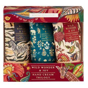 Heathcote & Ivory Wild Wonder & Joy Hand Cream Trilogy Gift Set, 3 X 30Ml