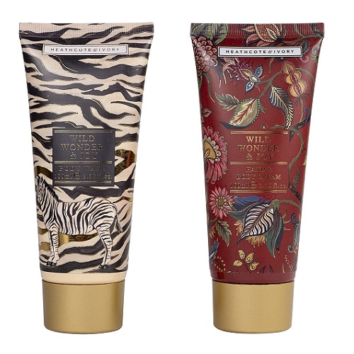Heathcote & Ivory Wild Wonder & Joy Pampering Bodycare Duo gift set