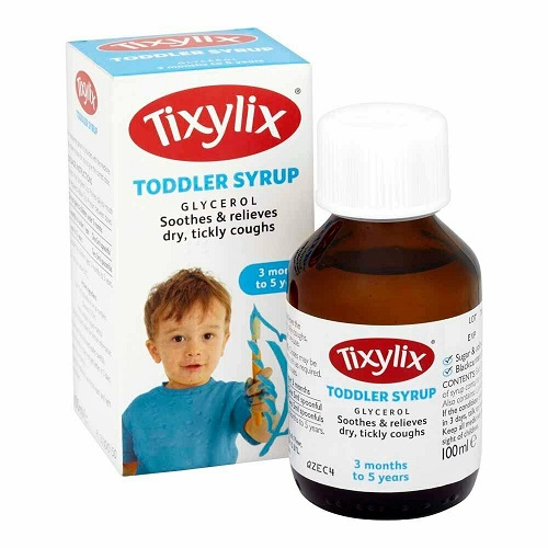Tixylix Toddler Syrup Soothes & Relieves Dry & Tickly Coughs - 100ml